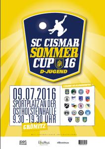 Plakat Sommerturnier